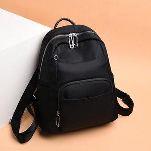 Женщины рюкзак Oxford Ткань сумка 2021 Новая тенденция женский Bagpack Большой школьный рюкзак подросток студент мода