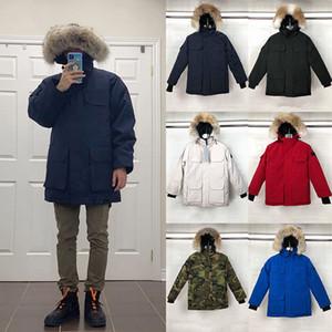 2020 nouveaux hommes Concepteurs Manteaux d'hiver vers le bas Parkas Vêtements pour femmes Vêtements capuche coupe-vent hommes S Vêtements Gilet Doudounes