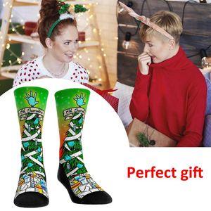 Warm Soft Cotton Christmas Socks Soft Fluffy Cosy Socks Thicken Warm Winter Fleece Lined Slipper Xmas Gift