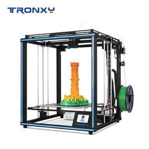 Printers Upgraded Tronxy X5SA 3D Printer 24V Silence Mainboard Auto Leveling CoreXY Structure High Quality Printing Filament Sensor1