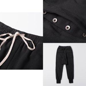 casl lujo diseñador miedo a los hombres pantalones pantalones de pantalones españols track Pantalones reflexivos dios IAEZ8 Casual Lightweight Pantalón coreano Logo Wome Vora