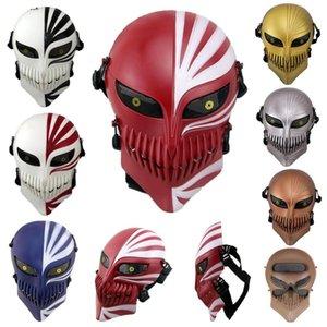 Бесплатная Доставка Смерти Смерть Ичиго Куросаки Bleach Mask Rings Halloween Masquerade Череп Косплей Костюмы CS War Игра Тактические маски