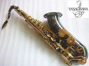 Yanagisawa nuovo sassofono Tenor Saxophone di alta qualità Sax B A Tenor Saxophone Playing Professionalmente Paragrafo Musica Black Sassofono Regalo