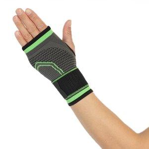COYOCO Marka Basınçlandırılabilir Bandaj Bilek Destek Palm Koruyun Bileklik 1 ADET Profesyonel Spor Bilekliği Bileklik Brace Black Bbynru