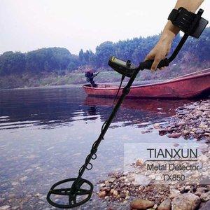 Tianxun TX-850 Профессиональная подземная глубина металлоискателя High чувствительность золотого сокровища детектор сокровища шпильки Finder1