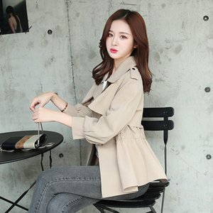Women's jacket fashion women's short paragraph temperament jacket Slim long-sleeved windbreaker spring and autumn new