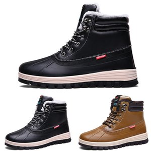 Hot Sale-2020 kind10 waterproof cotton Large size winter triple black grey man boy men boots mens Sneakers Boot trainers outdoor shoes