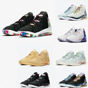 2021 Mens Basketball XVIII EP 18 James Bang Basketball Chaussures avec Box James Soldats XIV Sport Chaussures Chaussures Trainer Sneakers Taille 40-46