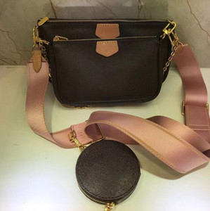 2021 Nova marca grande luxo estrela designer bolsas de alta qualidade um ombro mensageiro bolsa de bolsa de três peças