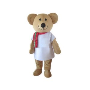 2020 Factory Outlets Bear Mascot Costumes Cartoon Character Adult Sz