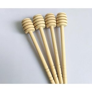 8cm Mini Wooden Honey Stick Honey Dippers Party Supply Spoon Stick Hone wmtzMo item_home