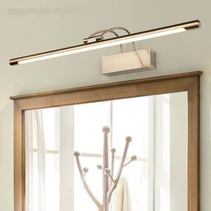 Moderne LED Vanity Lights Chambre à coucher Salle de bain Miroir de toilette Cabinet Lumière Creative Dressing Miroir Vanity Table Maquillage