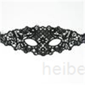 Lace 6 Design Design Masquerade Black Masks Party Lace Mask Mask Sexy Toy for Ladies Halloween Dance Dance Party Mawes