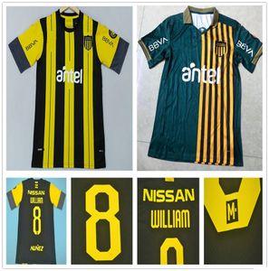 Nouveau 2021 Uruguay Lucas Version spéciale Viatri Commémoratif Edition Club Atletico Penarol Soccer Jersey Custom Peñarol Home Football Shirt