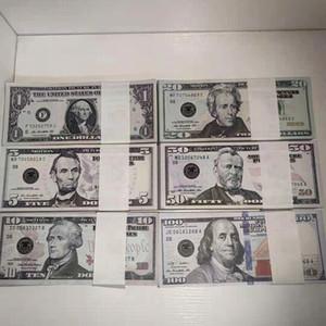 Фабрика прямых продаж F Bar Ake Banknotes игрушки, фильм и телевизионные съемки реквизиты Поддельные банкноты США Доллары чистые знаменитые игры