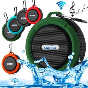 C9 Portable Speakers Wireless Bluetooth Speaker Outdoor Sports Music Sound Player 5W HIFI Stereo Support TF Card Bass Box USB