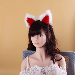 BESTCO 18+ Girl Fox Anal Plug Tails Plush Cute Ears Erotic Roleplay Fetish Goods BDSM Adult Sex Toys Funny Shop For Couples