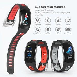 Großhandel DM11 Smart Armband IP68 Wasserdichte Armband Herzfrequenz Monitor Sport Smart Watch Farbe LCD-Bildschirm für ios Android