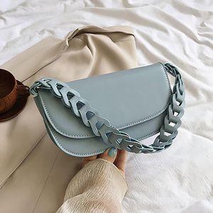woemn Fashion Phone Purses Chain Waist bag Messenger bag 2020 Small Solid Color Waist Packs Women Fashion Summer shoulder bag