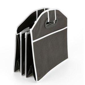 Auto Aufbewahrungsboxen Auto Multi-Pocket-Falten-zusammenklappbarer extra großes Falten-Aufbewahrungsbox Bag-Trunk-Stornen Aufräumen Trunk Organizer Sea GWC4740