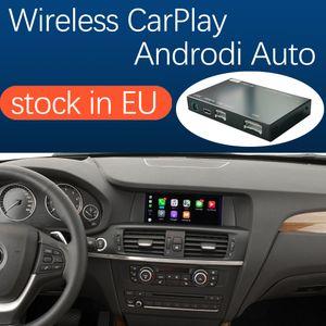 BMW CIC NBT Sistemi için Kablosuz Carplay Arayüzü X3 F25 X4 F26 2011-2016, Android Otomatik Ayna Bağlantı Airplay Ile Araba Oyna