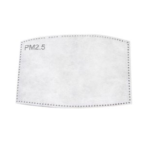Anti Dust Droplets Replaceable Mask Filter Insert for Mask Paper Haze Mouth PM2.5 Filters Face Masks Insert Replaceable Filter Pad CC