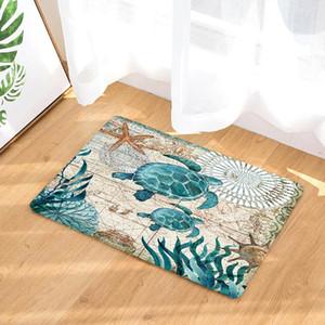 Turtle / Polpo / Sea Horse Stampato Zerbino antiscivolo Tappeto per pavimento Tappeto Tappeto Home Decor