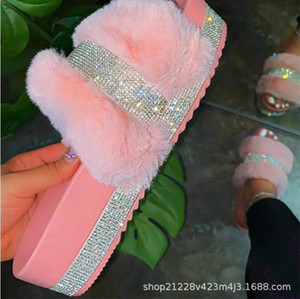 JQYP Dibujos animados de mujeres Fruta Flip Flaks Moda Summer Slippers Ladies Funny Female Diapositivas Zapatos planos One Tamaño Slipper para Sandlas