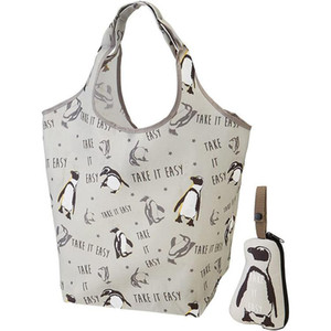 Printing pattern Convenient foldable cute portable shopping bag large capacity storage bags