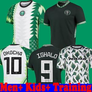 2020 NİGERIA Pre Match Training Social Jersey Men + Kids 20 21 Okechukwu Okocha Ahmed Musa Mikel футбольная футболка для футболки
