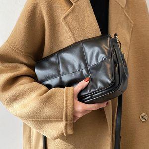 Retro square PU soft leather shoulder bag 2020 autumn and winter new fashion high-end women's designer messenger bag