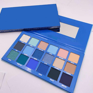 Newest Long-lasting Five Star Eye Shadow Cosmetics 18 Colors Matte & Shimmer Eye Pressed Powder Palette Makeup Easy to Wear DHL