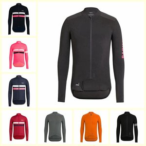 2019 RAPHA team Cycling long Sleeves jersey Hot Sale Bike Clothes Breathable MTB ropa ciclismo Quick Dry bicycle clothing U101730