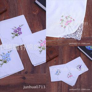 l0h5 todo el algodón de encaje bordado de un solo ángulo de encaje de algodón de algodón de algodón corbata teñida