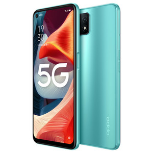 """Original Oppo A53 5G Mobile Phone 6GB RAM 128GB ROM MTK 720 Octa Core Android 6.5"""" Full Screen 16MP AI Face ID Fingerprint Smart Cell Phone"""