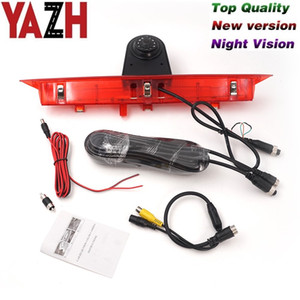 YAZH Car Brake Light Rear View Reverse Back Up Parking Camera for FORD Transit 2014 2015 Wide angle Waterproof HD Night vision