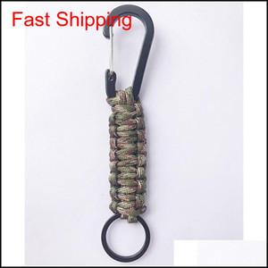 Cordino Keychain Survival Survival Gear Paracadute Cord Tactical Multi Color Kit Arrampicata Bardian Wear Qylcbr Five2010