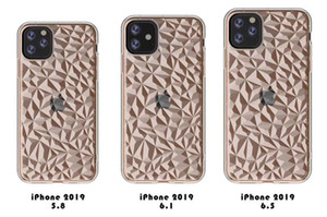 Phone Clear Case для Diamond 2019 TPU 6,5 xr XS 7 8 SAM SUNG S10 PLUS A70 M30 J2 CORE HUAWEI P30 Pro Мягкий прозрачный BA