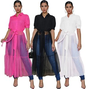 Women Casual Dresses summer clothes sexy club holiday party dress evening dress elegant beachwear solid color sheer panelled stylish 0674