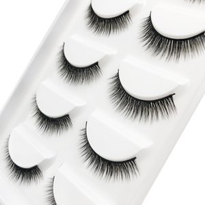 Most popular style 049 sample provided 5 pairs 3D mink 100% handmade high grade full strip lashes