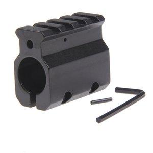 Einstellbarer Gasblock Single 20mm Picatinny Schienenmontage .223 LR-308 Fass