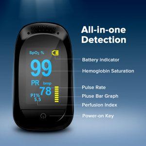 Feds Pulse Medical Oximeter CE FDA Утверждено Оборудование для испытания кислорода в крови, OLED-дисплей SPO2 Зажим для пальцев Ex-Factory Price FCC ROHS