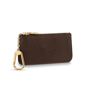 Key Pouch Key Chain Wallet Mens Pouch Key Wallet Card Holder Handbags Leather Card Chain Mini Wallets Coin Purse K05 0827