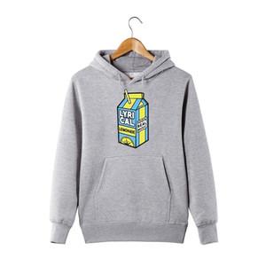 lyrical lemonade Hoodie 100% real music Funny Hoodie For Men Women lyrical lemonade Pullover Hooded Sweatershirt 201126
