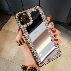 Mirror Phone Case For Apple iPhone 12 pro max 2020 Soft TPU Cover For iPhone 11 Pro Max X XR XS Max Capa