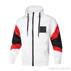 Erkek ilkbahar ve sonbahar sweatsuit ceket rüzgarlık ceket moda erkek spor rüzgarlık ceket patlayıcı model elbise yaka boyun pri