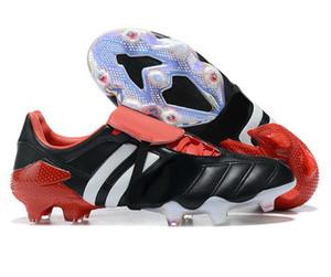 2020 Men's Predator 20+ FG Soccer Shoes Mutador Predator Mania Tormentor Beckham Futebol Botas Locais Loja Online Yakuda Futebol Cleats Homens