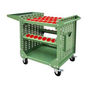 Mobile CNC tool cart BT HSK Series CNC Tool Holder Lathe Tool Management Cart