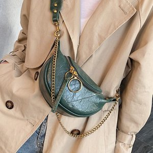 Fashion Quality PU Leather Crossbody Bags For Women 2021 Chain Small Shoulder Simple Bag Lady Travel Handbags and Purses