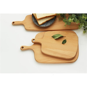 Fruit Whole Wooden Plate Cutting Wood Boards Chopping Blocks Beech Baking Bread Board Tool No Cracking Deformation